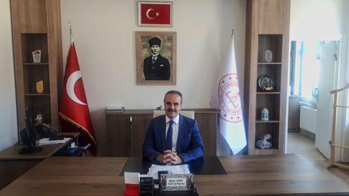 İlçe Milli Eğitim Müdürü Mehmet DURAN, İlköğretim Haftasını Kutladı