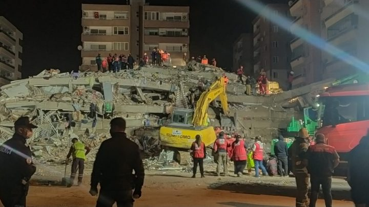 Gemlik'ten, İzmir'e Destek