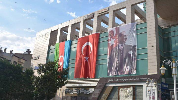 Gemlik'ten Azerbaycan'a Destek