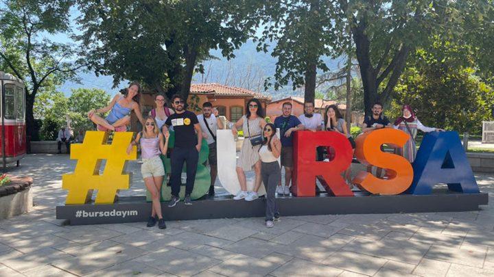 Engelli Bireyler İçin Avrupa'dan Gençler Bursa'da Buluştu!
