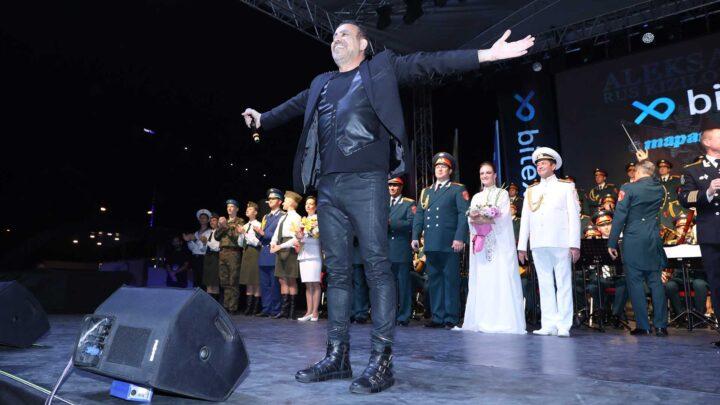 Haluk Levent ve Rus Kızılordusu Bursa'da Final Konseri
